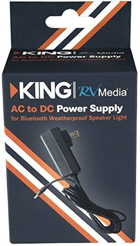 king rvm50 ac a dc adapter para king rvm series altavoces /