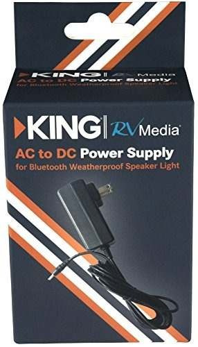 king rvm50 ac a dc adapter para king rvm series altavoces /