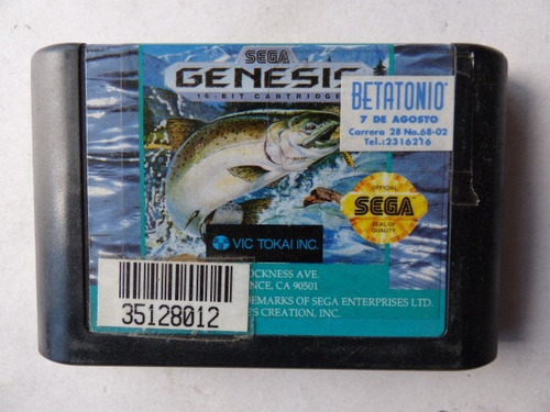king salmon sega genesis zonagamz