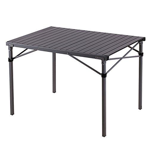 Compacta De Kingcamp® Mesa Aluminio Plegable htCQrsd
