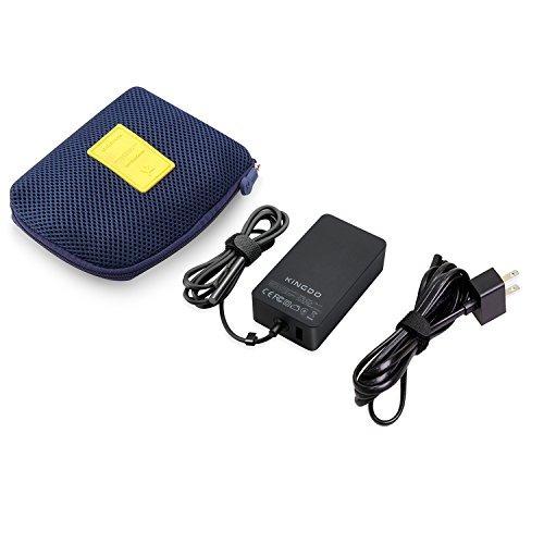 kingdo adaptador de fuente de alimentación de superficie 65w