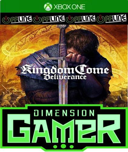 kingdom come deliverance - xbox one - no codigo - off-line