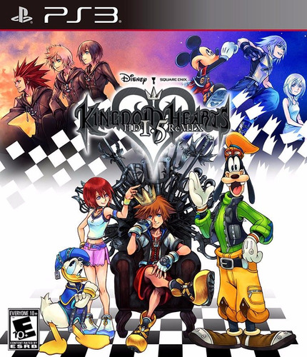 kingdom hearts 1.5 hd remix fisico nuevo ps3 dakmor