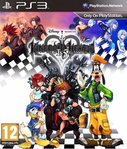 kingdom hearts 1.5 hd remix ps3 fisico sellado ade