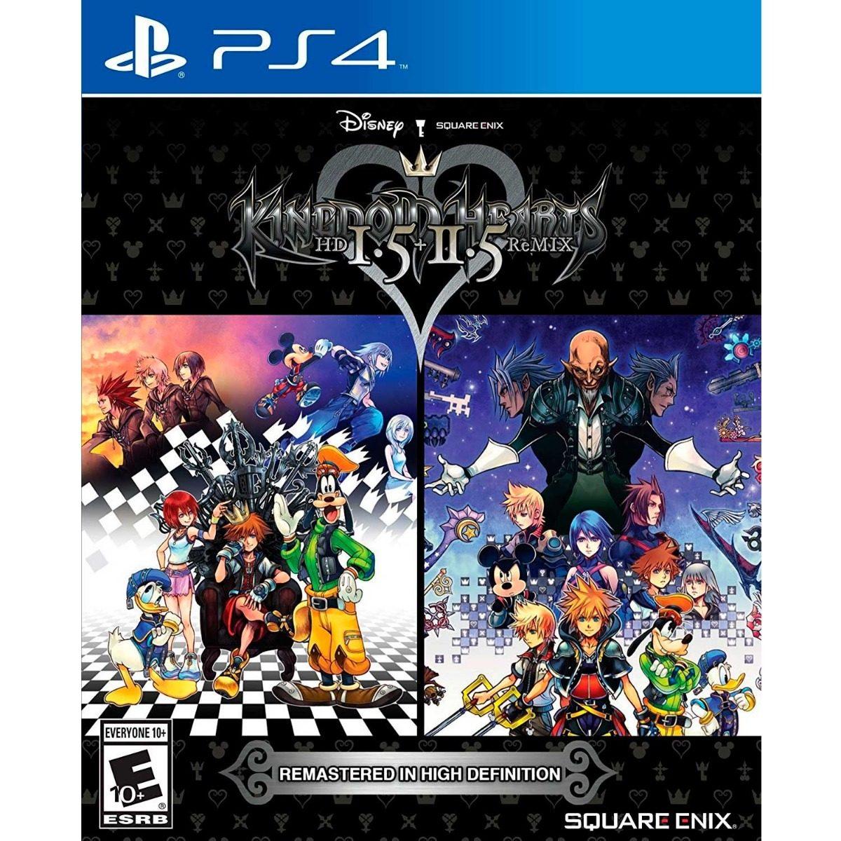 Kingdom Hearts 1 5 Ps4 Juego Fisico Playstation 4 Regalo S 104