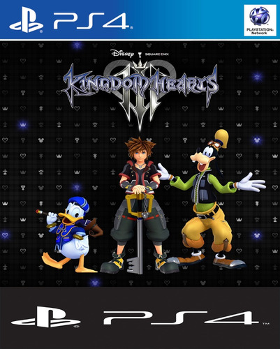 kingdom hearts 3 digital ps4 | 1° | español | 50% off |