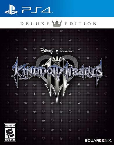 kingdom hearts 3 iii deluxe edition fisico sellado ps4 stock