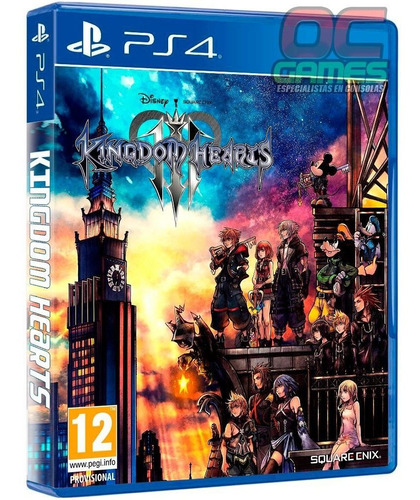 kingdom hearts 3 ps4 fisico sellado original - palermo