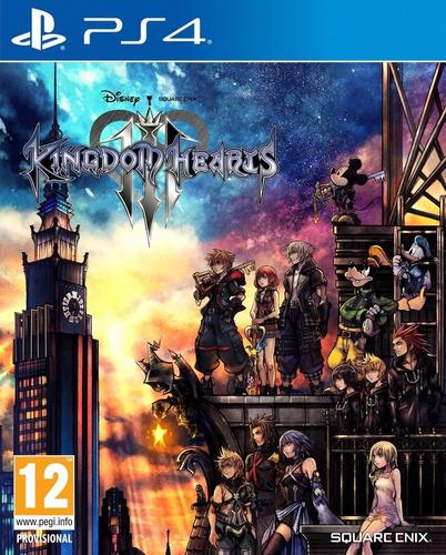 kingdom hearts 3 ps4 fisico sellado original. ramos mejia