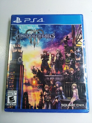 kingdom hearts 3 ps4 nuevo sellado delivery