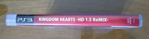 kingdom hearts hd 1.5 remix ps3 versión completa oferta