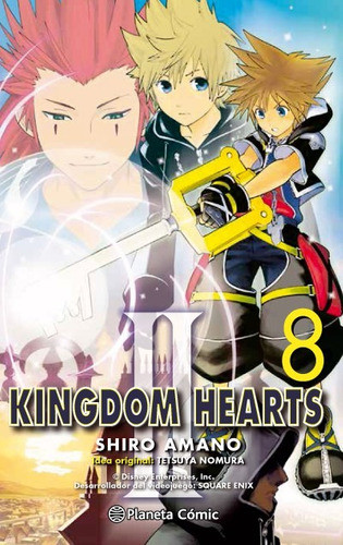 kingdom hearts ii 08(libro shonen (acci¿n - juvenil))