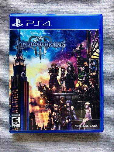 kingdom hearts iii para playstation 4