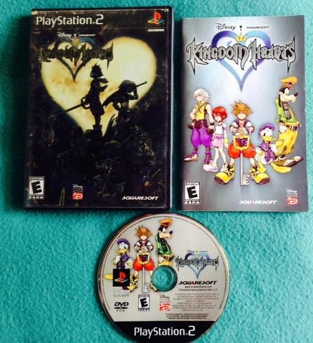 kingdom hearts / original completo /  playstation 2 /  ps2