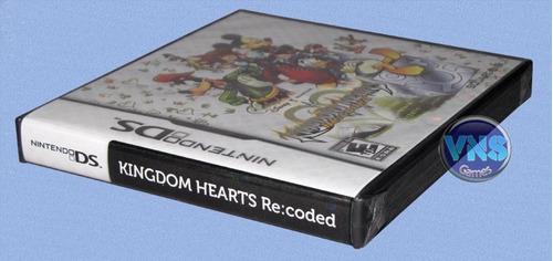 kingdom hearts re: coded - nintendo ds - lacrado!
