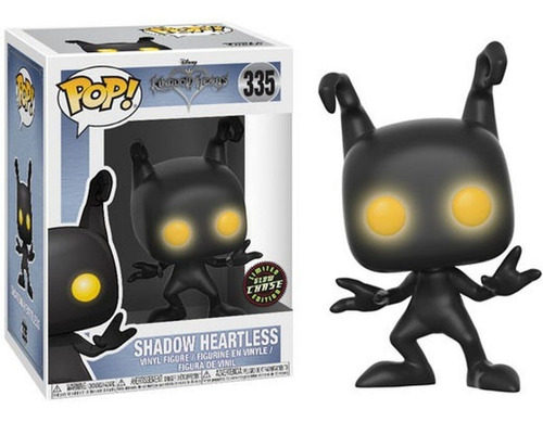 kingdom hearts. shadow heartless #335 chase. funko: pop!