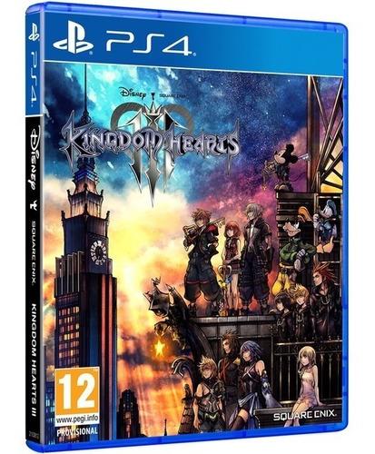 kingdom of hearts iii ps4 juego físico original sellado full
