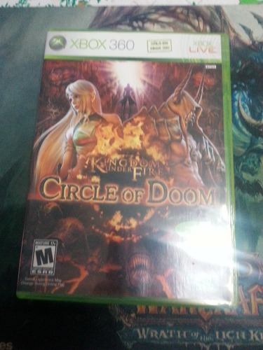 kingdom under fire circle of doom xbox 360 x360