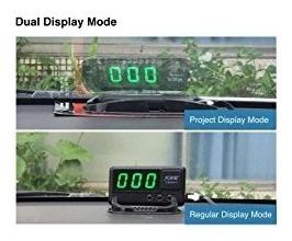 kingneed gps del vehículo velocidad head-up display, veloc