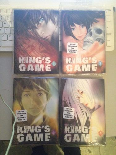 kings game tomo completo manga mexico