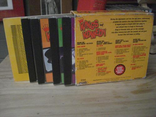 kings of komedy - 4 cd set - inglés  humor  abbot y costello