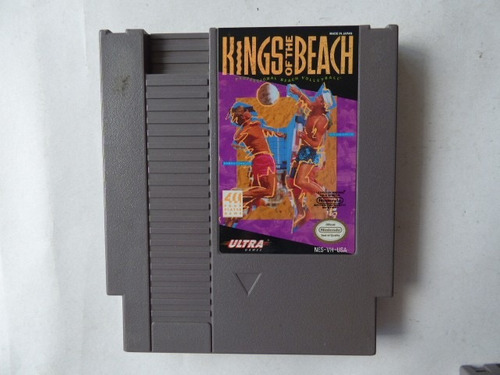 kings of the beach nintendo nes zonagamz