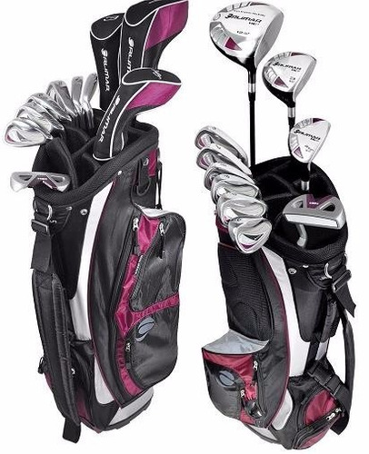 kingshops set golf orlimar he2 dama - juego + bolsa