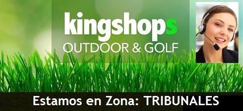 kingshops set pesca kunnan caña veneto 1.95m+ tempest +multi