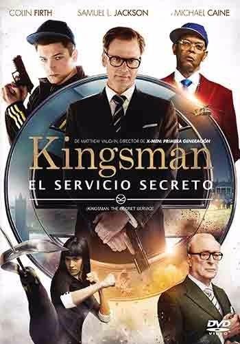 kingsman el servicio secreto pelicula dvd
