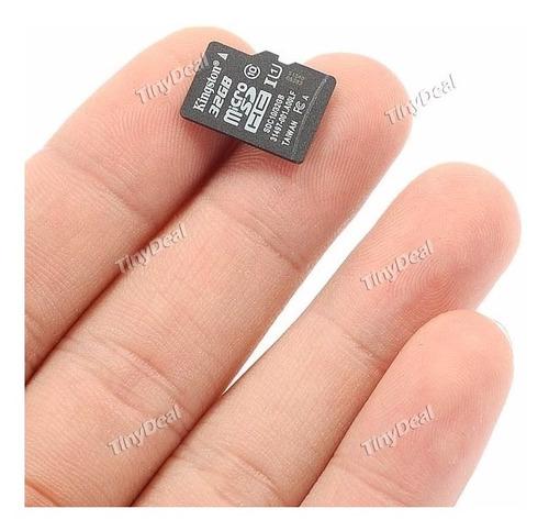 kingston 32gb class 10 uhs-1 microsdhc flash card efm-268212
