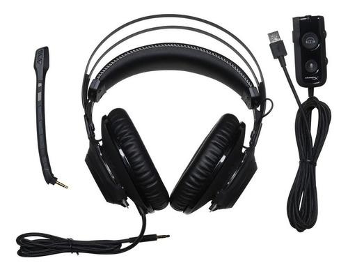 kingston auricular gamer hyperx 7.1 tranza