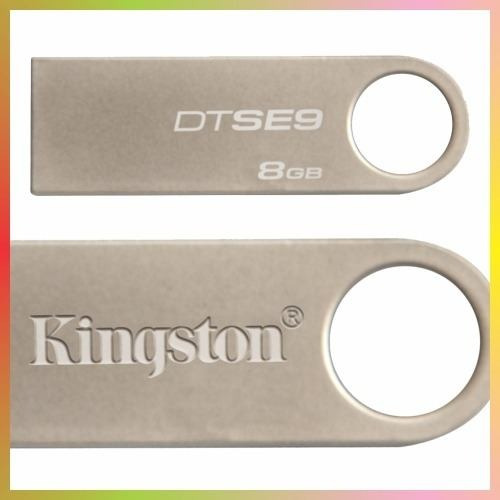 kingston data traveler se9 de 8gb , moderno y practico