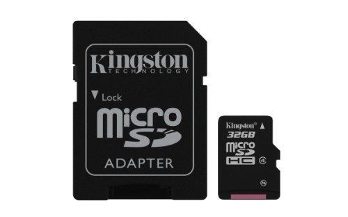kingston digital 32 gb tarjeta de memoria flash microsdhc sd
