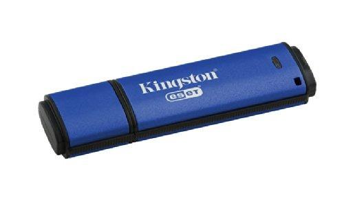 kingston digital 8 gb datos viajero aes cifrado bóveda inti