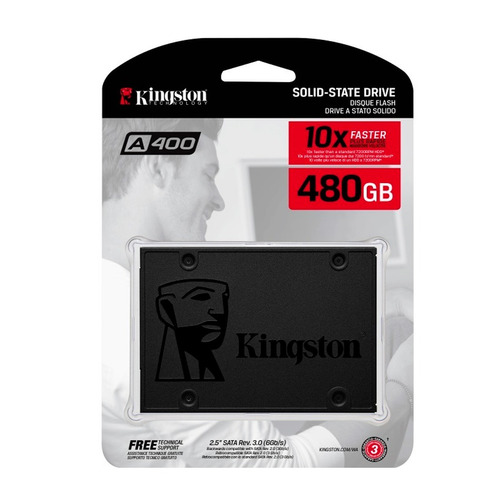 kingston disco duro solido ssd sata lll pc 480 gb sa400s37