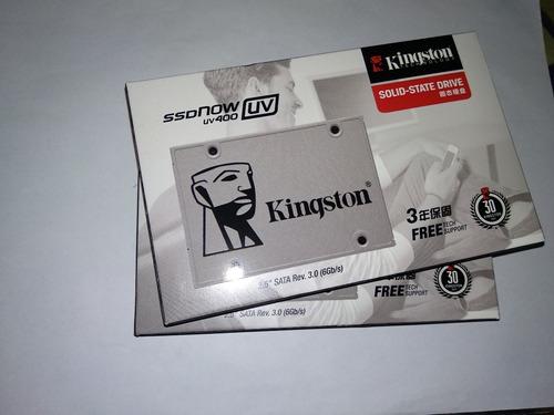 kingston disco ssd 120gb ssdnow uv400 sata 3 ssdnow