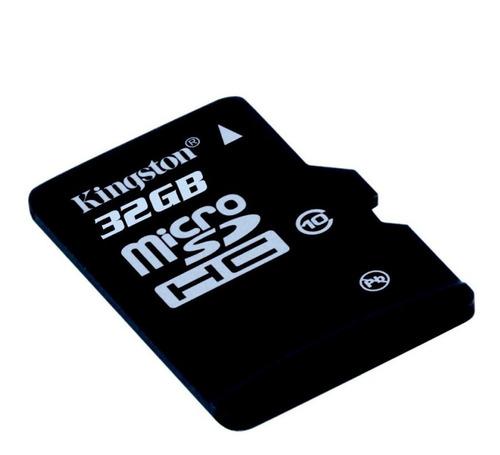 kingston memoria micro sd hc 32gb uhs-i cl10 celulares 80mb