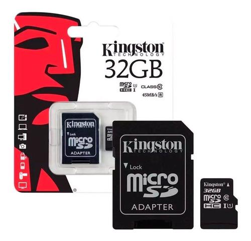 kingston memoria microsdhc 32gb sdc4