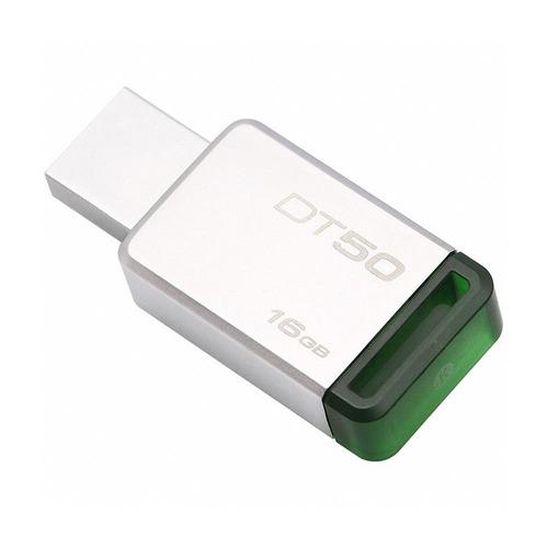 kingston memoria usb portatil 16gb data traveler 3.0 dt50