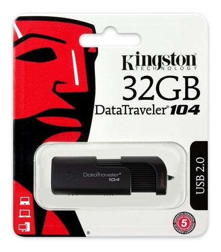 kingston memory flash usb 2.0 datatraveler 104  32gb