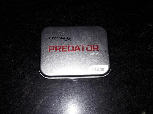kingston usb 3.0 512gb datatraveler hyperx predator