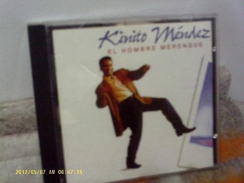 kinito mendes - el hombre merengue- cd importado