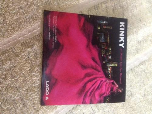 kinky cd edición mexicana