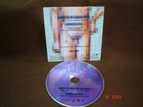 kinky -  cd single - ejercicio # 16 bfn