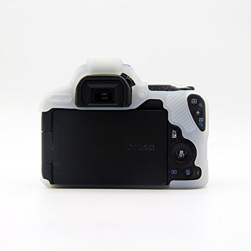 kinokoo silicone cover for canon eos 200d/rebel sl2 protecti
