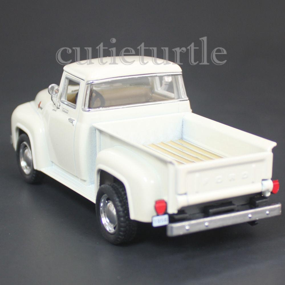 Kinsmart 1956 Ford F-100 PickUp Truck 1:38 Diecast Toy Car Black KT5385D