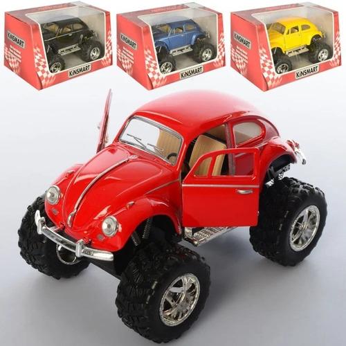 kinsmart  1967 vw beetle (off road) escala 1:36