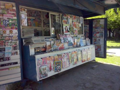kiosco de diarios y revistas