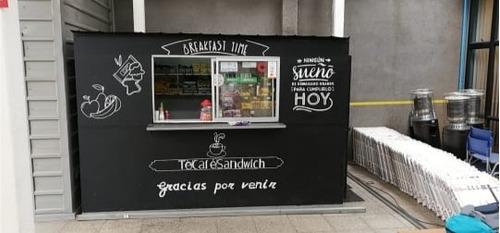 kiosco desmontable