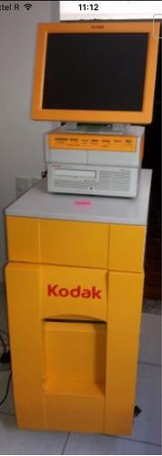 kiosk g4 kodak faz fotos até o tamanho 15x21